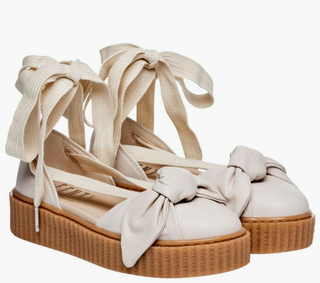 2a6fb3a9fc8d Women s Puma Fenty Rihanna Bow Creeper Sandals shoes
