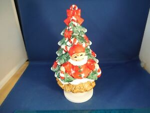 vintage elf spinning christmas tree we wish you a merry christmas