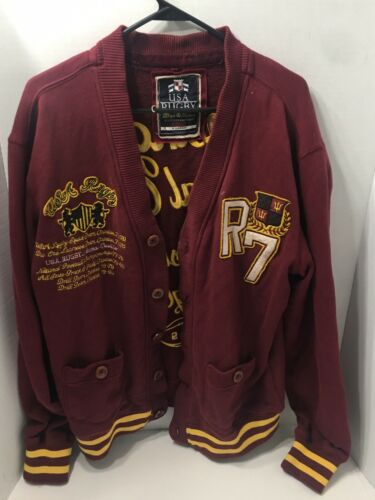 Vintage Rugby Letterman's Sweater Varsity