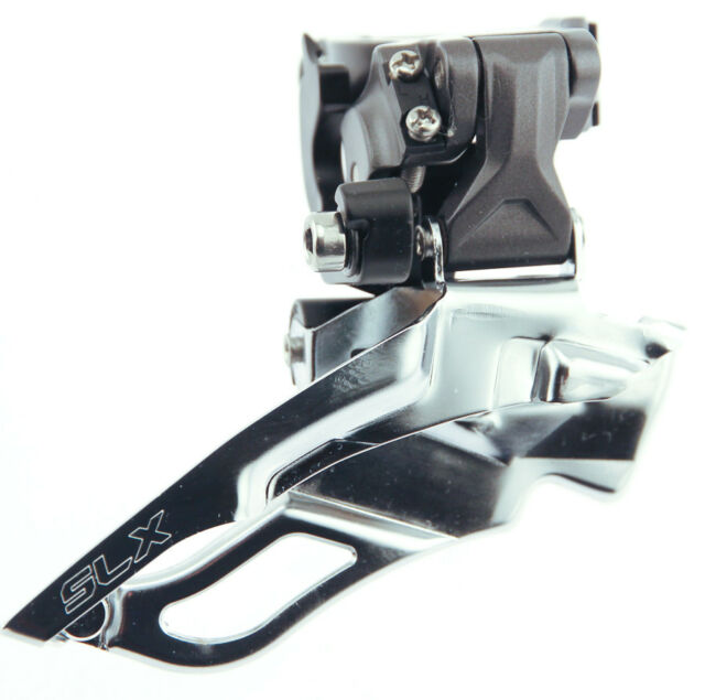 DOWN SWING 34.9 FOR 2X10SPD SHIMANO SLX DUAL PULL FRONT DERAILLEUR