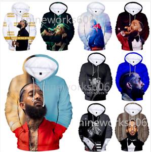 Rapper-Nipsey-hussle-3D-Print-Men-Womens-Casual-hoodies-Sweatshirt-Pullover-Tops