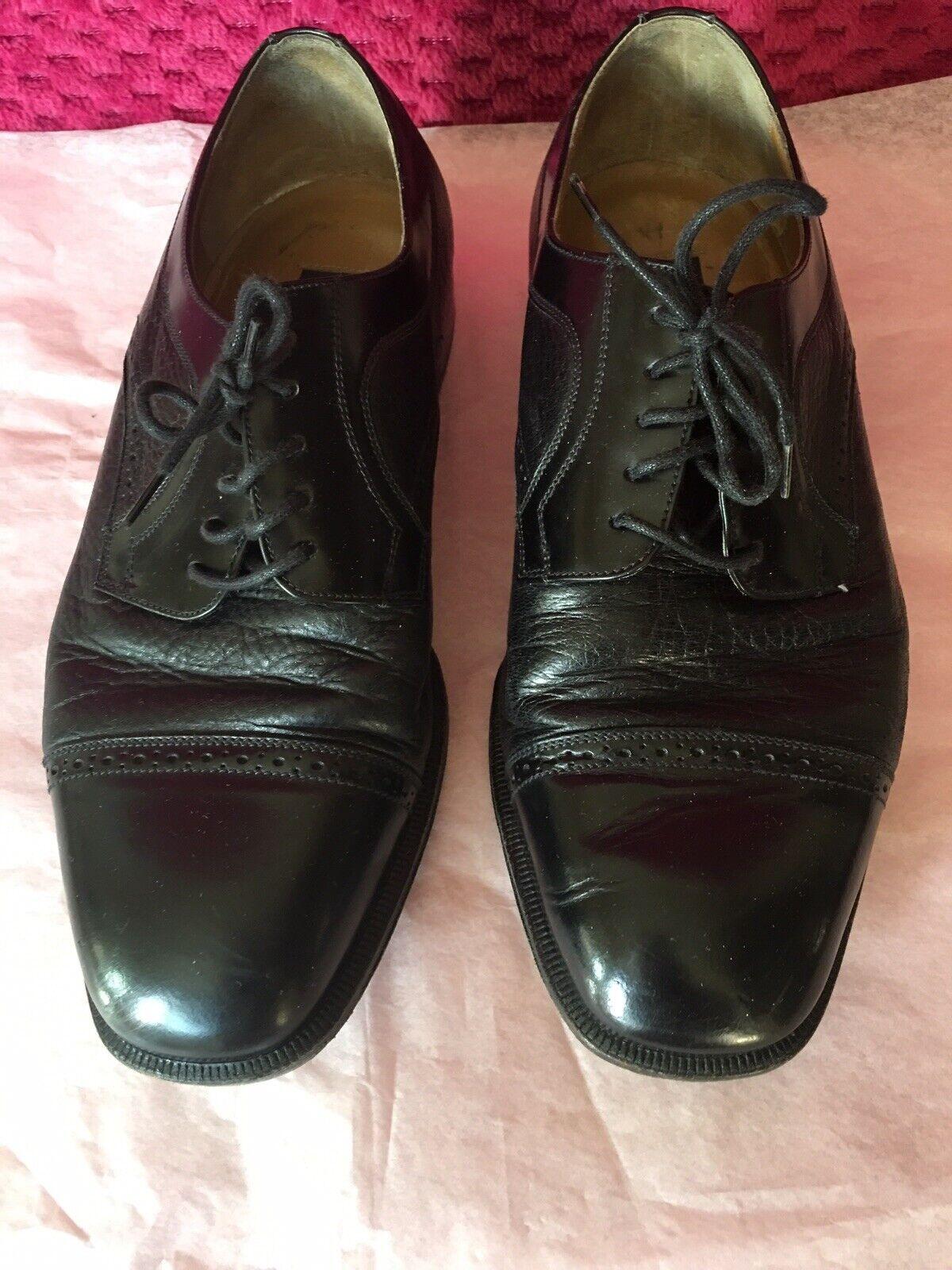 vendite dirette della fabbrica Stamati Mastroianni Uomo Italian nero Leather Leather Leather Dress scarpe Oxfords (Dimensione  8 W)  prendiamo i clienti come nostro dio