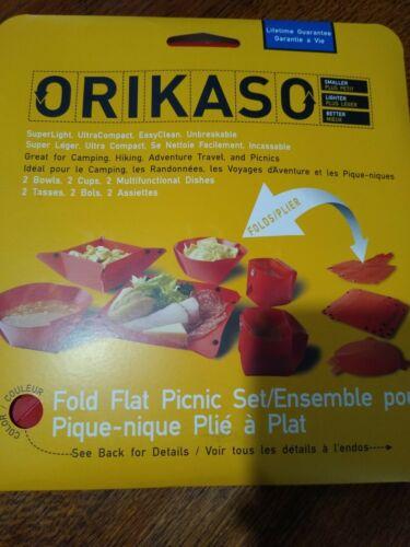 Orikaso 2 person Fold Flat Picnic Set
