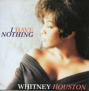 CD-Single-Whitney-HOUSTON-I-have-nothing-2-Track-card-sleeve-VERY-RARE