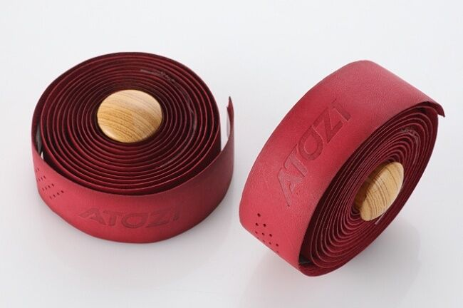 New 100% Genuine Real Leather Bike Bicycle Cycling Handlebar  Tape Wrap- Red  lowest whole network