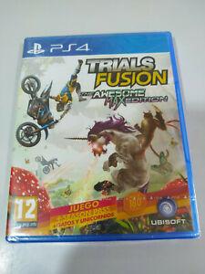 Trials Fusion Das Awesome Max Ausgabe - Set PS4 Ausgabe Spanien Pal nuevo