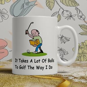 Image Is Loading Golfer Balls Golf Player Birthday Gift Mug For
