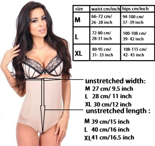 NEW Body FIRM CONTROL TUMMY SHAPER PANTS SLIMMING UNDERBUST CONTROL INVISIBLE