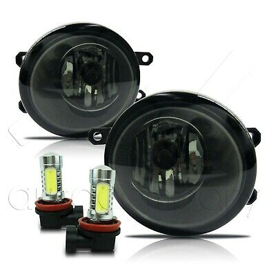 Clear For GX460 HS250H RX450H Replacement LED Fog Light Lamps