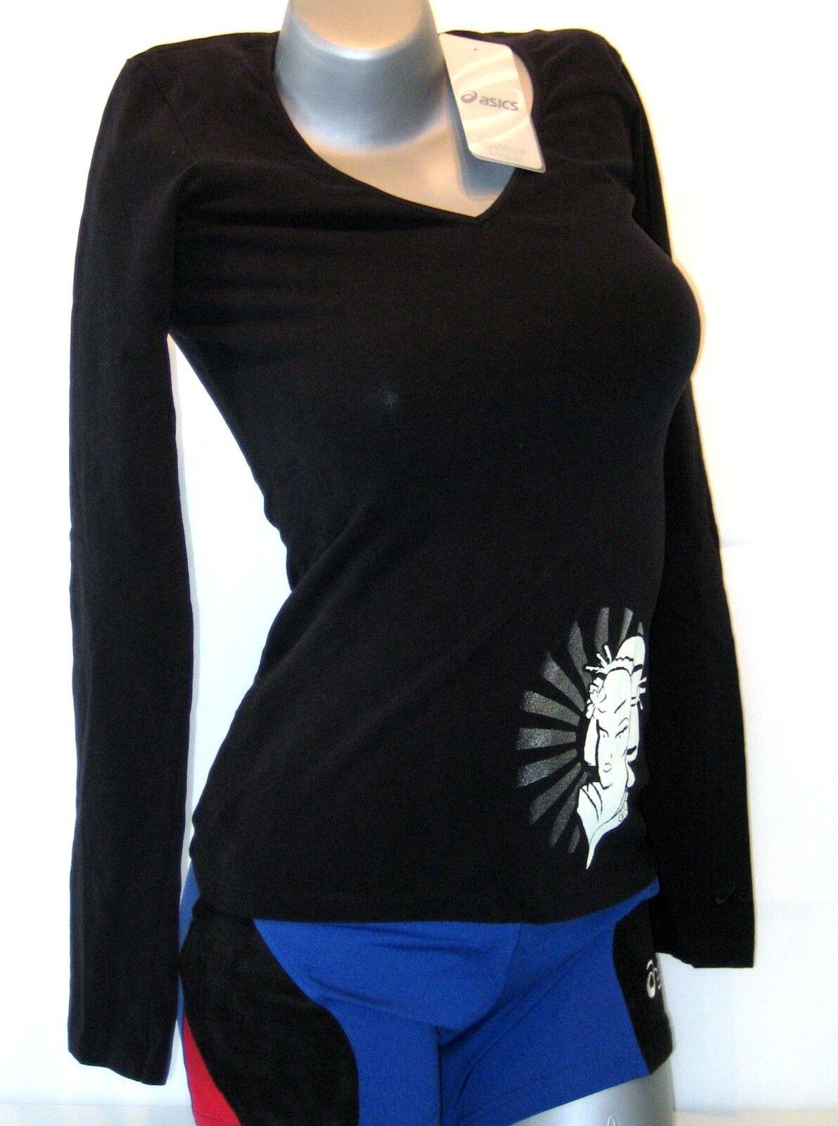 ASICS Damen Shirt Größe XS schwarz NEU Idoru Lauf- Sport- T- Shirt