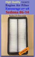Entourage 07-10 / Sedona 06-14 Premium Quality Engine Air Filter Va5673 \(^o^)/