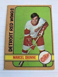 1971-1972-O-PEE-CHEE-Marcel-Dionne-Detroit-Red-Wings-133-Hockey-Card