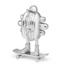 HotGod (Silver) by Anomaly Shanghai x Mighty Jaxx hotdog skateboard NEW