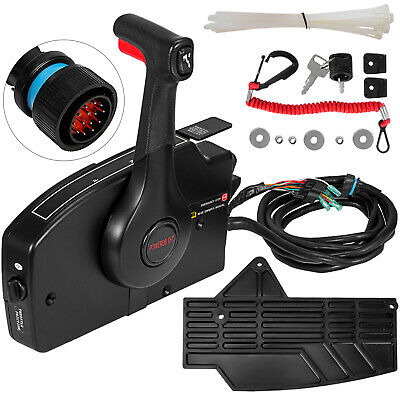 15ft Harness Outboard Side Mount Remote Control Box for Mercury Marine 881170A15
