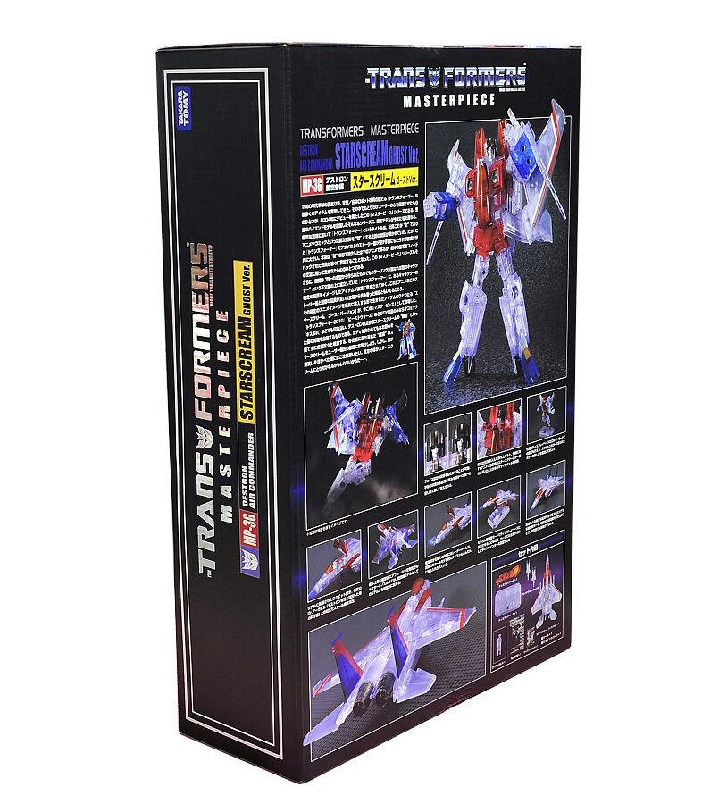 Transformers Takara Destrom Air Commander MP-3G Starscream Ghost  UK