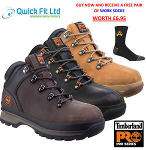 d6abb9e0819 Details about NEW MENS TIMBERLAND PRO SPLITROCK XT SAFETY WORK HIKER ANKLE  STEEL TOE CAP SHOES