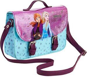 Disney-Frozen-Bolso-de-mano-con-Anna-y-Elsa-brillo-Bandolera-Bolso-Para-Ninas-Adolescentes