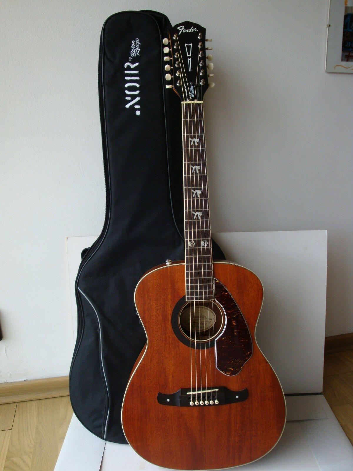 Fender Tim Amstrong Akustische Gitarre Elektronisch mit Gitarrentasche