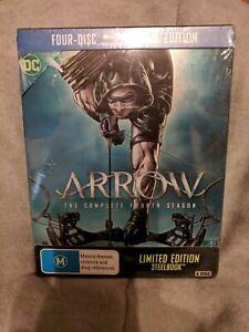 STEELBOOK-Arrow-Season-4-Blu-ray-2016-4-Disc-Set