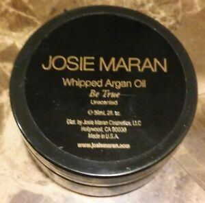 JOSIE-MARAN-WHIPPED-ARGAN-OIL-BE-TRUE-UNSCENTED-2-OZ-SEALED-UNBOXED