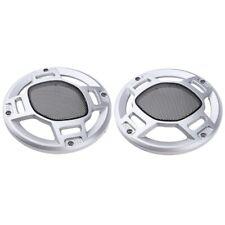 "2Pcs 3/"" Inch Speaker Cover Grille Audio Protective Hood Case Metal Mesh Part TW"