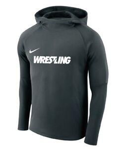 a0ffc7c2 Image is loading Mens-Nike-WRESTLING-Academy-18-Hoodie-Sweatshirt-Black-