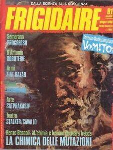 FRIGIDAIRE N.91 - PRIMO CARNERA - 1988 - Italia - FRIGIDAIRE N.91 - PRIMO CARNERA - 1988 - Italia