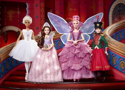 completamente snodati Barbie Schiaccianoci Clara Fata confetto Ballerina Bambola