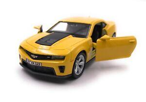 Chevrolet-Modellino-Auto-con-Richiesta-Caratteristiche-Camaro-ZL1-Automobile