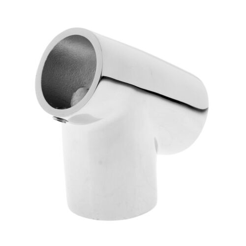 316 Stainless Steel Boat Hand Rail 25mm 60 Degree Tee Fittings Hardware