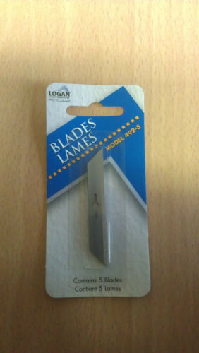 Logan 492-5 Blades for Logan 1500 Foam Board Cutter Pack of 5