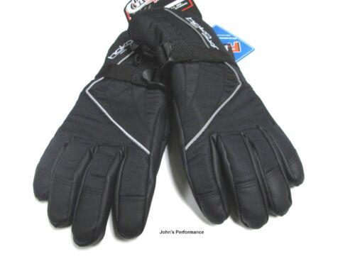 225258-0 Size 8-16 Choko Kids Youth Black Snowmobile Gloves XS S M L XL