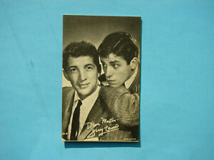 1947-66-TELEVISION-amp-ACTORS-EXHIBIT-CARD-PHOTO-DEAN-MARTIN-JERRY-LEWIS-EXHIBITS