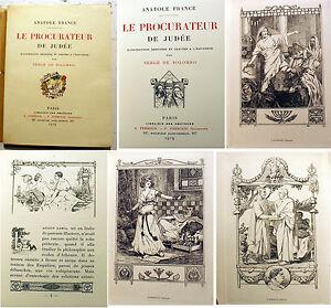 ROME-LE-PROCURATEUR-DE-JUDEE-A-FRANCE-ED-FERROUD-1919-EO-SERGE-DE-SOLOMKO-ILL