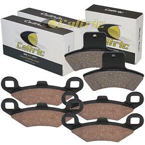 1998-02 Front /& Rear Brake Pads  For POLARIS Sportsman 500 4x4 EBS