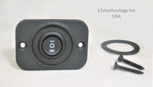 on Double Momentary Rocker Switch DPDT Center Off Six Wire  12V Dual -off- on