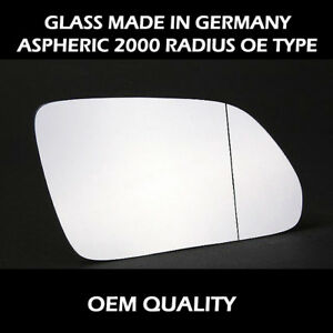 LR-Freelander 1997 to 2000 Heated Silver Wing//Door Mirror Glass Including Base Plate LH Passenger Side