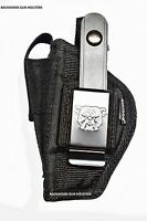 Gun Holster For Bersa Thunder 380 & 22 Pistol With Built-in Magazine Pocket