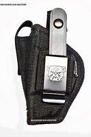 Gun Holster For Bersa Thunder 380 & 22 Pistol With Built-in Magazine Pocket