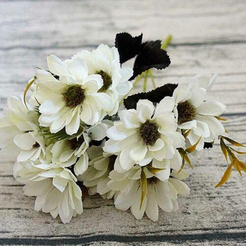 1 Stück Künstliche Blumen Gänseblümchen Dekoblumen Hochzeit Haus Deko Neu