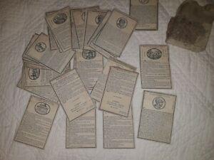 Rarissime jeu de cartes de 1840 chez Didot époque Louis-Philippe !