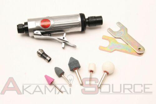 "MINI 1//4/"" Air Straight Inline Die Grinder 1//8/"" Rotary Air Compressor Tool Tools"