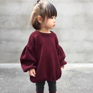 baby-girls-lantern-long-sleeve-jumper-hot-sale-best-kids-dress-wine-red-Pullover