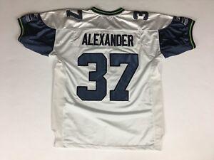 a6f3fe9bf Image is loading Men-s-Vintage-SHAUN-ALEXANDER-Seattle-Seahawks-Reebok-