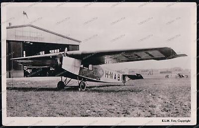 Painstaking Foto-ak-k.l.m.-f2-vliegende Hollander-flugzeug-airplane- Ansichtskarten