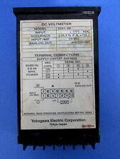 """Yokogawa 3.5/"""" Panel 75Vdc DC Voltmeter Part # 2944-864-00 w// Zero Adjuster"""