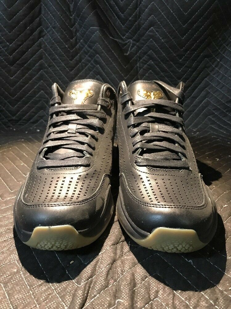 Mens Nike Kobe X Mid Ext Shoes Size 11.5 NIB 225 Black Gold 802366 002