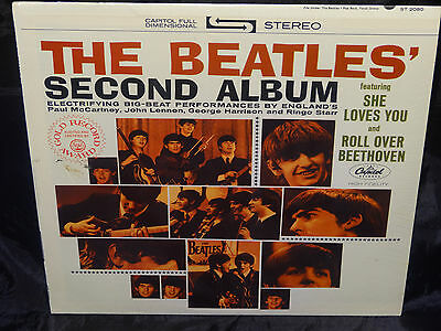 The Beatles Second Album SEALED USA 1971 RIAA 12 LP W/ NO BARCODE