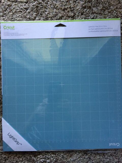 Cricut Mat Light Grip Cutting 12x12 Blue Explore Lightweight Air Expression NEW