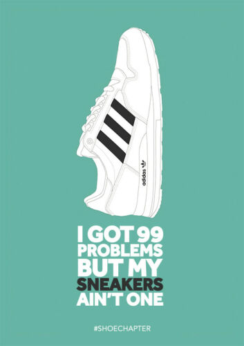 Stone Roses Oasis ADIDAS CASUALS CLASSIC TRAINERS POSTERS PRINTS Gallagher
